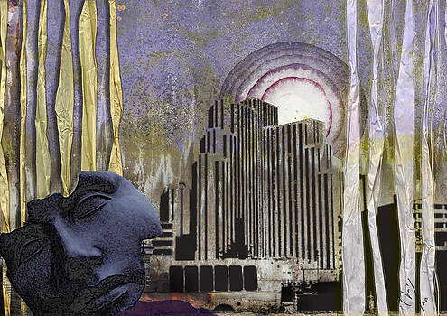 Through Ragged Curtains by Maria Jesus Hernandez