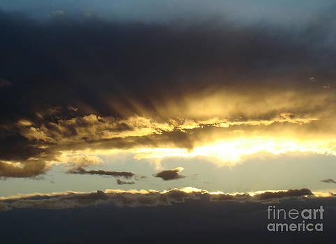 Through the Clouds by Eva Kato