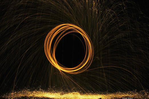 Through the fire and flames by Diaae Bakri