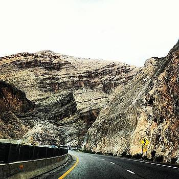 Through The Mountain #roadtrip by Julia Goldberg