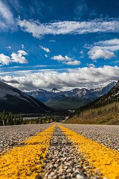 Through the Mountains  by Maik Tondeur