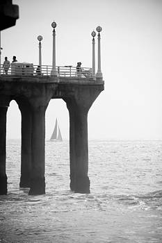 Through the Pier by Mark DeJohn