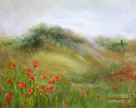Through the Poppies by Kathy Lynn Goldbach