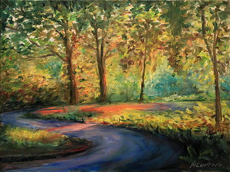 Through the woods by Marina Lavrova