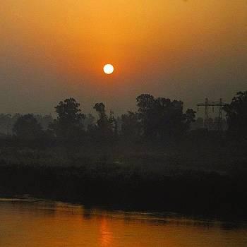 Throw Back Thursday. Sunrise In Punjab by Srivatsa Ray