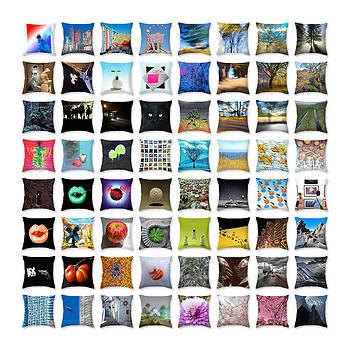 Daniel Furon - Throw Pillows