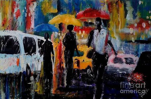Thru The Rain  by Kalvin Zane