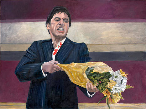 Thug with Flowers No. 2 by Thomas Weeks