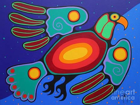 Thunder Spirit by Jim Oskineegish