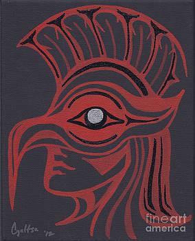 Thunderbird Mask by A Cyaltsa Finkbonner