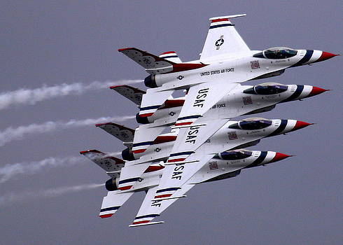 John King - Thunderbirds at Salinas Air Show
