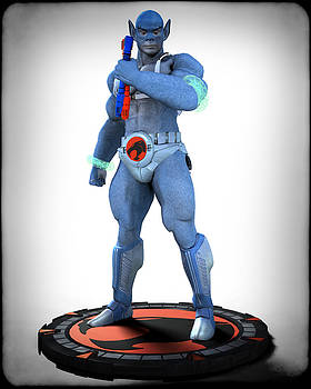 Thundercats - 3000 - Panthro v1 by Frederico Borges