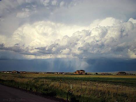 Joyce Dickens - Thunderstorm On The Plains