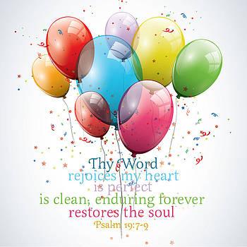 Thy Word Rejoices My Heart by Sarah Christian
