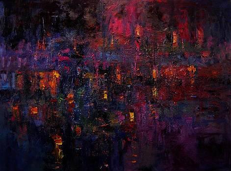 Tia Dalma's lanterns III by R W Goetting