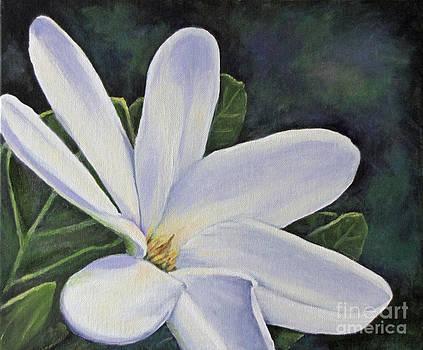 Tiare Flower by Jan Gibson