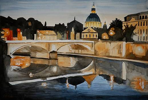 Tiber Reflection by James Nuce