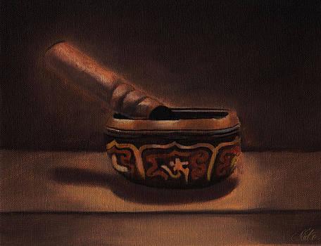 Tibetan Singing Bowl by Nicko Gutierrez