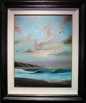 Tidal Surf by Arie Yosef
