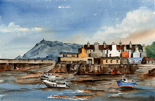 Val Byrne - Tide out Bray Harbour  Wicklow