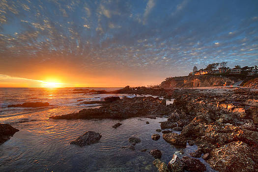 Cliff Wassmann - Tide pools at Corona del Mar