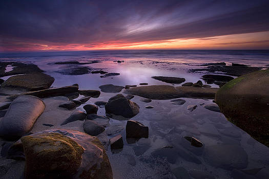 Tidepools Like Glass by Peter Tellone