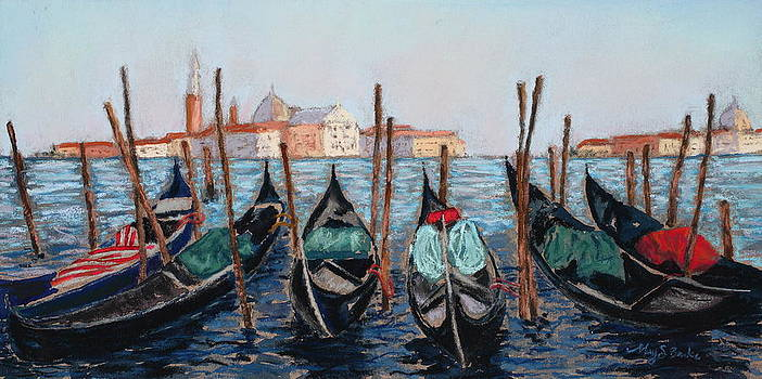 Mary Benke - Tied Up in Venice