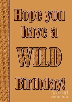JH Designs - Tiger Birthday