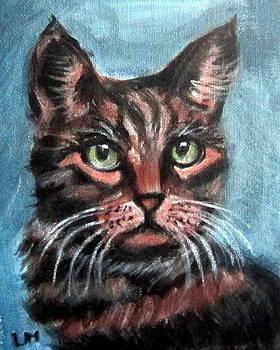 Tiger Cat by Lia  Marsman