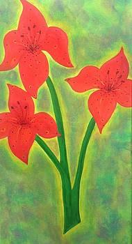 Tiger Lily by Eddie Pagan