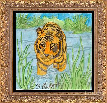 Tiger On the Prowl by Sylvia Howarth