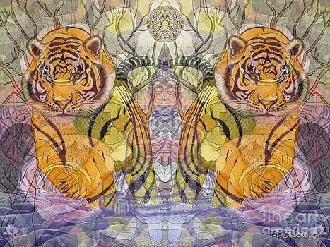 Tiger Spirits in the Garden of the Buddha by Joseph J Stevens