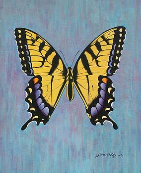 Tiger Swallowtail by J W Kelly