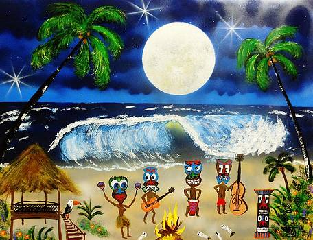 Tiki Band by Amy LeVine