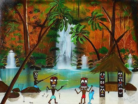 Tiki Art by Amy LeVine