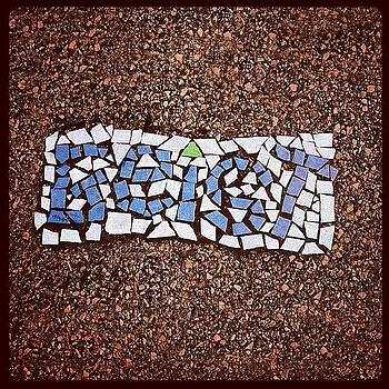 #tileart On #templeuniversity Campus by John Baccile
