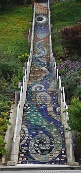 Tiled Steps by Lawrence Pratt