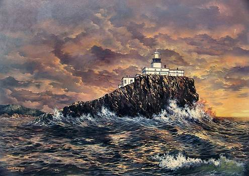 Tillamook Rock Light by Lynne Wright