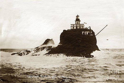 California Views Mr Pat Hathaway Archives - Tillamook Rock Lighthouse Oregon circa 1915