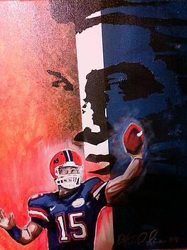 Tim Tebow by Ottoniel Lima