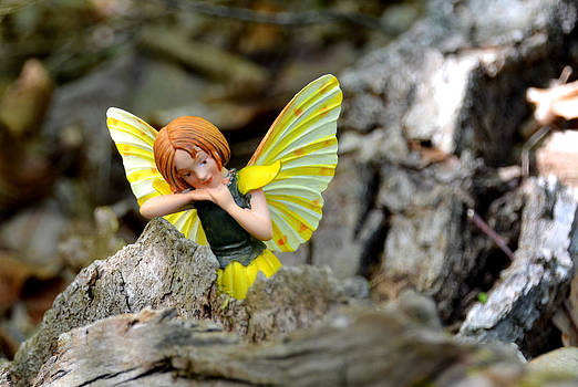 Linda Rae Cuthbertson - Time for a Rest - Woodland Fairies