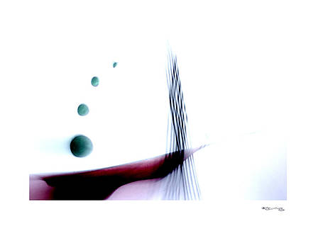 Time on a string 7 by Xoanxo Cespon