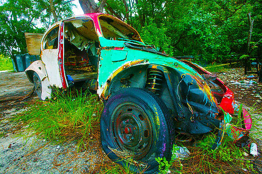 Time to Change Tire by Gilberto Gutierrez