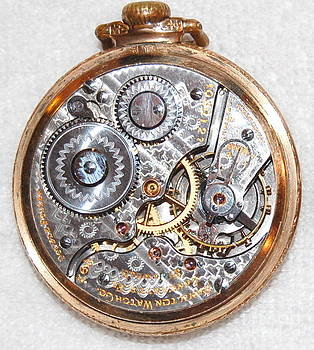 Linda Rae Cuthbertson - Timeless - Hamilton Pocket Watch Internal Gears