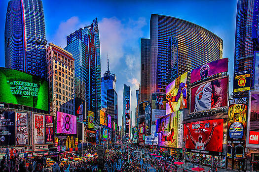 Times Square by Chris Lord
