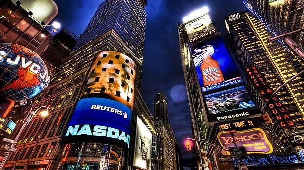 Times Square by Csongor Licskai