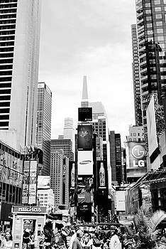 Times Square by Jennifer Wartsky