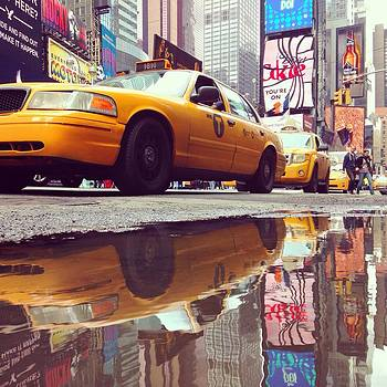 Times square New York City by Erdem Uzunoglu