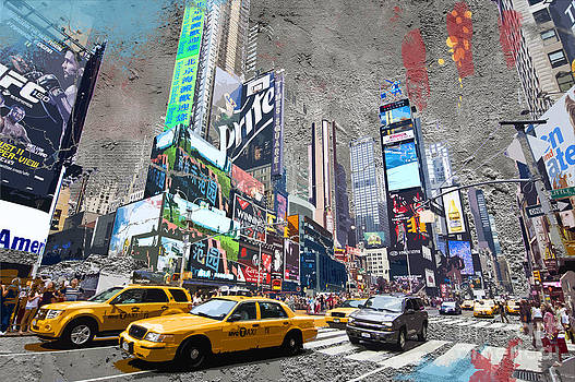 Delphimages Photo Creations - Times Square street creation