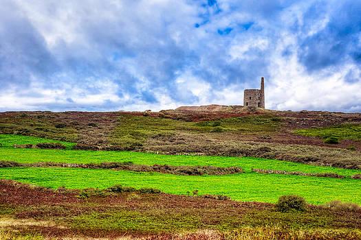 Mark Tisdale - Tin Mine Ruins - Cornwall Landscape
